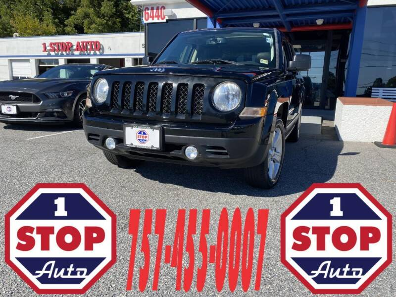 2015 Jeep Patriot for sale at 1 Stop Auto in Norfolk VA