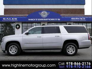 2017 GMC Yukon XL for sale at Highline Group Motorsports in Lowell MA