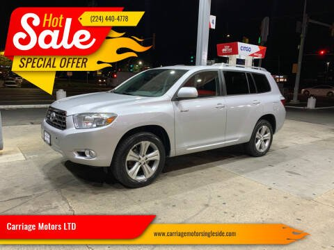 2010 Toyota Highlander for sale at Carriage Motors LTD in Ingleside IL