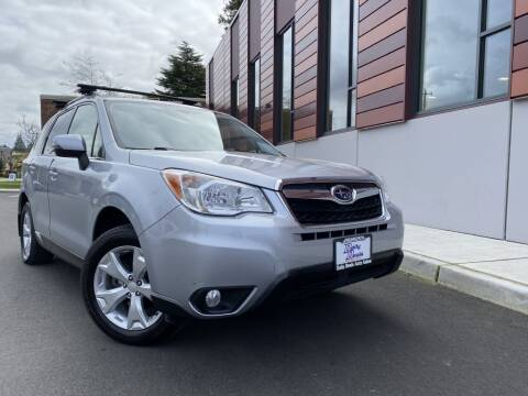 2014 Subaru Forester for sale at DAILY DEALS AUTO SALES in Seattle WA