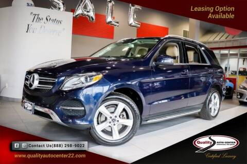 2017 Mercedes-Benz GLE for sale at Quality Auto Center in Springfield NJ