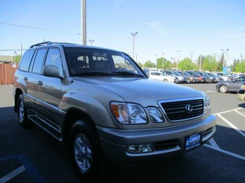 1999 Lexus LX 470 for sale at Choice Auto & Truck in Sacramento CA