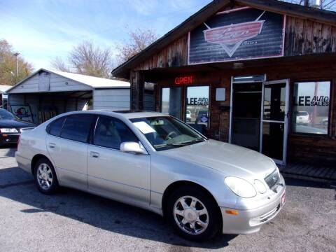 2003 Lexus GS 300 for sale at LEE AUTO SALES in McAlester OK