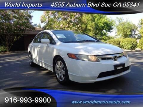 2008 Honda Civic for sale at World Imports in Sacramento CA