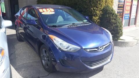 2013 Hyundai Elantra for sale at Blvd Auto Center in Philadelphia PA