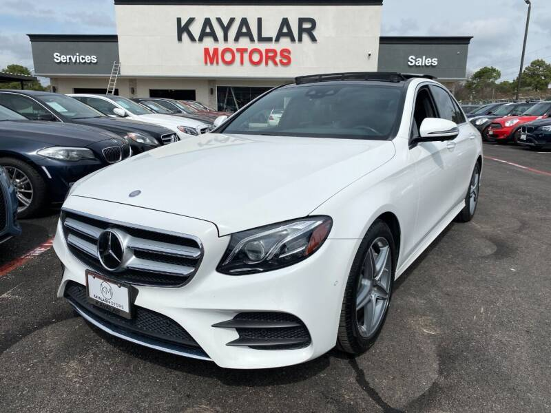 2017 Mercedes-Benz E-Class for sale at KAYALAR MOTORS in Houston TX
