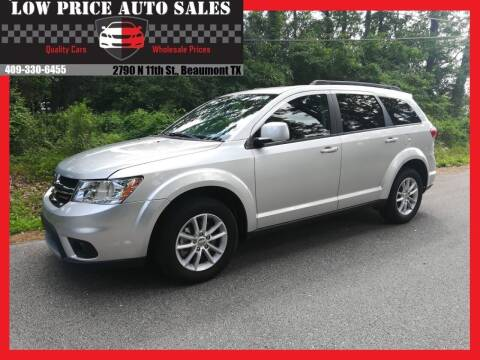 2014 Dodge Journey for sale at Low Price Autos in Beaumont TX