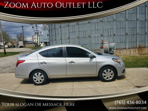 2015 Nissan Versa for sale at Zoom Auto Outlet LLC in Thorntown IN