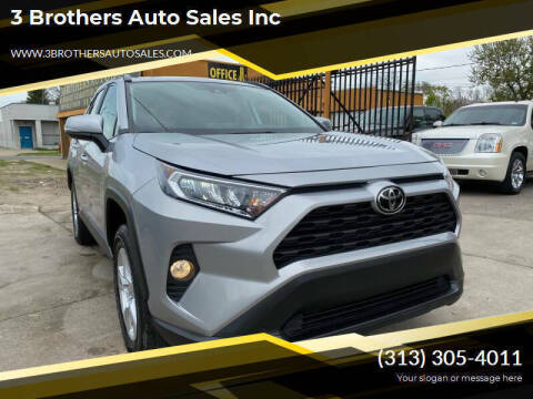 2019 Toyota RAV4 for sale at 3 Brothers Auto Sales Inc in Detroit MI