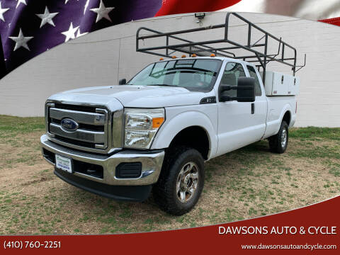 2016 Ford F-250 Super Duty for sale at Dawsons Auto & Cycle in Glen Burnie MD
