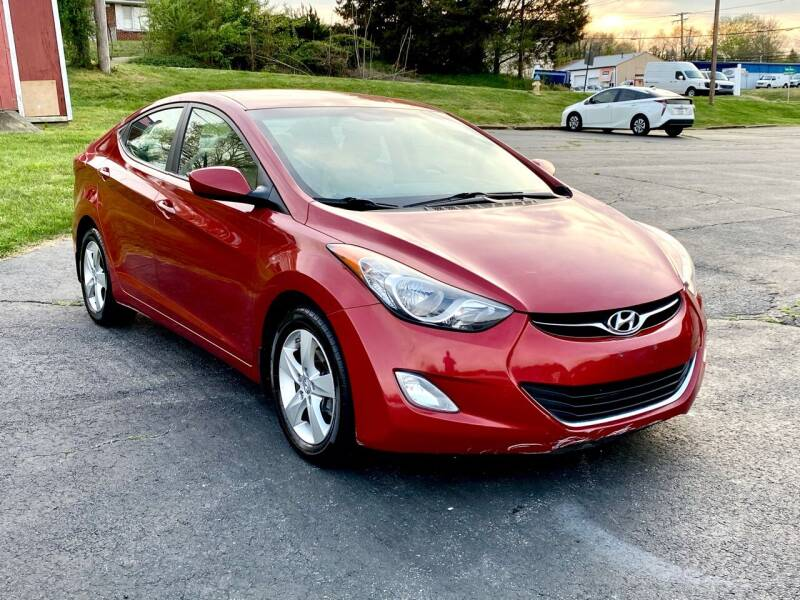 2013 Hyundai Elantra for sale at ANZ AUTO CONCEPTS LLC in Fredericksburg VA