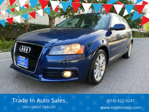 2012 Audi A3 for sale at Trade In Auto Sales in Van Nuys CA