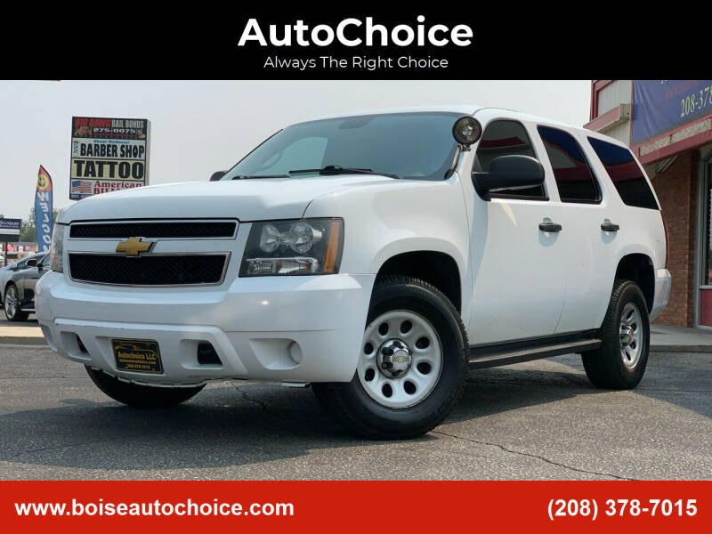 2014 Chevrolet Tahoe for sale at AutoChoice in Boise ID