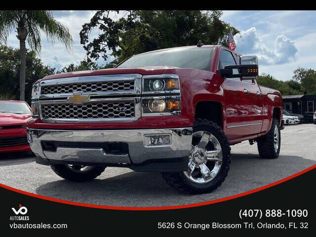 2015 Chevrolet Silverado 1500 for sale at V & B Auto Sales in Orlando FL