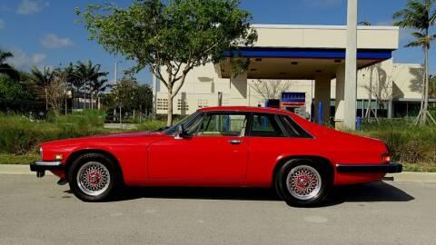 1989 Jaguar XJS for sale at Premier Luxury Cars in Oakland Park FL