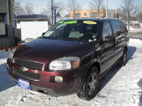 2007 Chevrolet Uplander for sale at Weigman's Auto Sales in Milwaukee WI