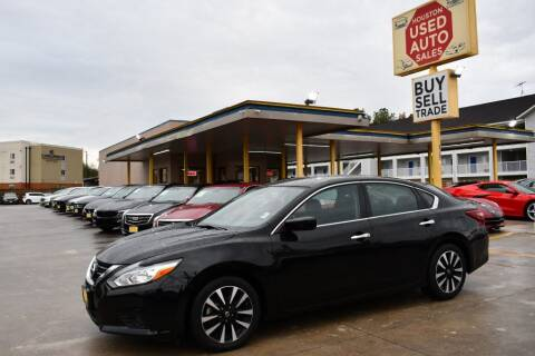 2018 Nissan Altima for sale at Houston Used Auto Sales in Houston TX