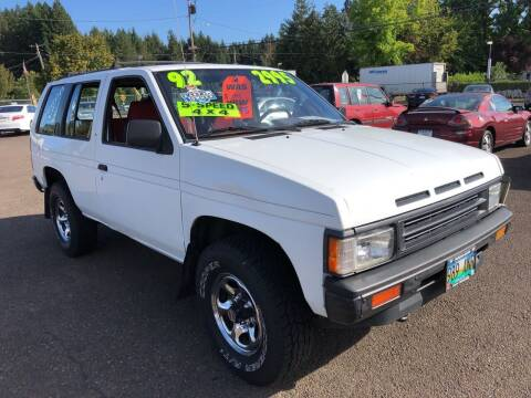 1992 Nissan Pathfinder for sale at Freeborn Motors in Lafayette, OR