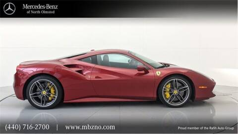2018 Ferrari 488 GTB for sale at Mercedes-Benz of North Olmsted in North Olmsted OH