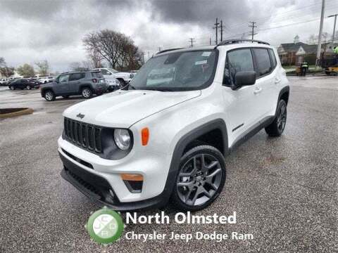 2021 Jeep Renegade for sale at North Olmsted Chrysler Jeep Dodge Ram in North Olmsted OH