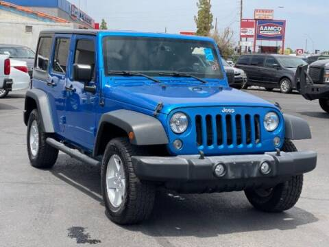 2015 Jeep Wrangler Unlimited for sale at Brown & Brown Auto Center in Mesa AZ