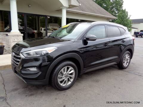 2016 Hyundai Tucson for sale at DEALS UNLIMITED INC in Portage MI