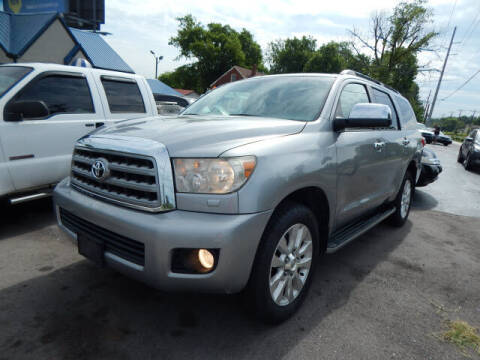 2008 Toyota Sequoia for sale at WOOD MOTOR COMPANY in Madison TN