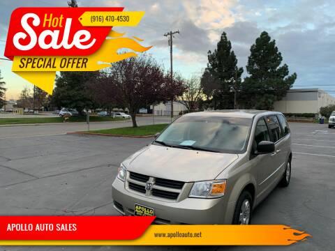 2009 Dodge Grand Caravan for sale at APOLLO AUTO SALES in Sacramento CA