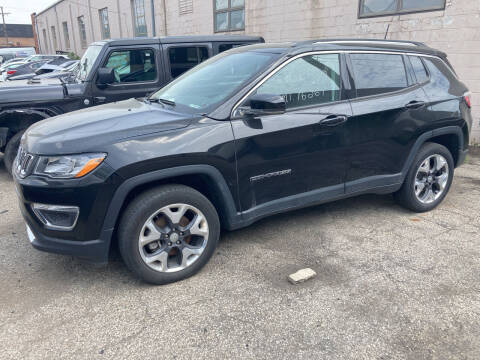 2019 Jeep Compass for sale at ALL TEAM AUTO in Las Vegas NV