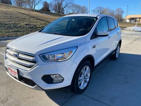 2017 Ford Escape for sale at BIG O MOTORS LLC in Omaha NE