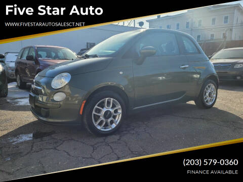 2013 FIAT 500 for sale at Five Star Auto Sales in Bridgeport CT