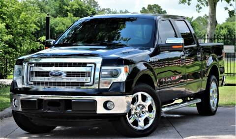 2014 Ford F-150 for sale at Texas Auto Corporation in Houston TX