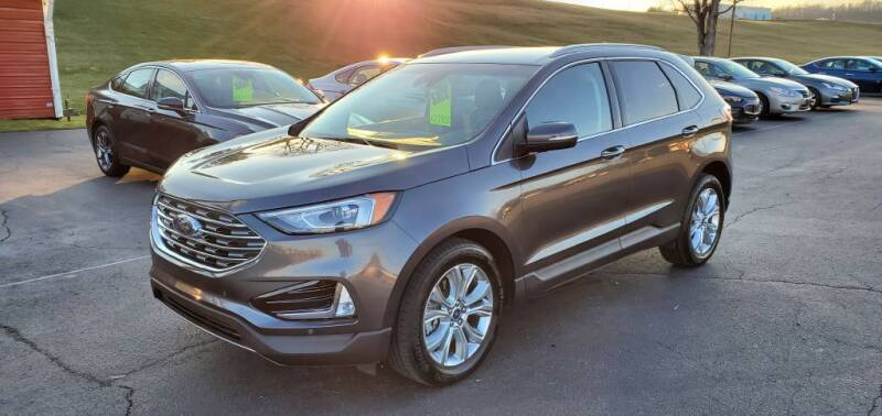 2020 Ford Edge for sale at Gallia Auto Sales in Bidwell OH