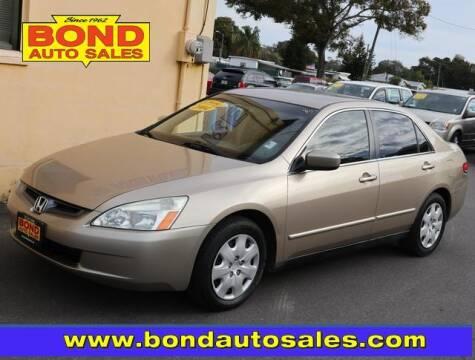 2004 Honda Accord for sale at Bond Auto Sales in Saint Petersburg FL
