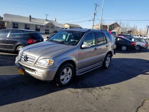 2005 Mercedes-Benz M-Class for sale at Cool Cars LLC in Spokane WA
