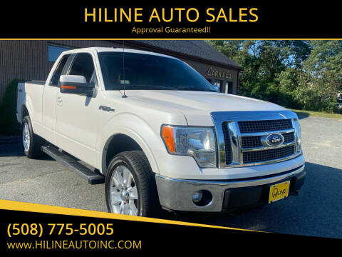 2012 Ford F-150 for sale at HILINE AUTO SALES in Hyannis MA