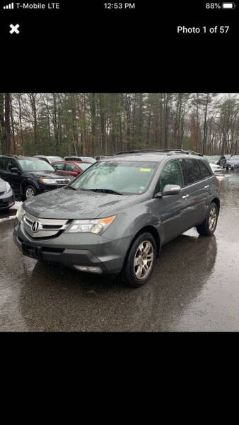 2008 Acura MDX for sale at Worldwide Auto Sales in Fall River MA