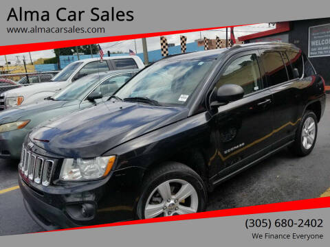 2011 Jeep Compass for sale at Alma Car Sales in Miami FL