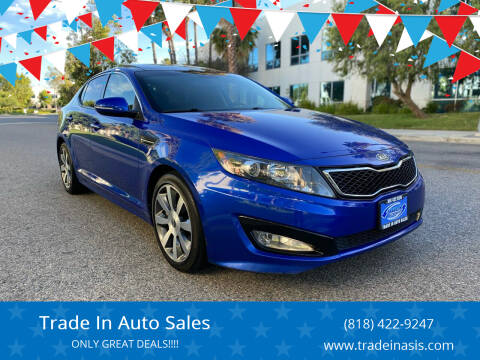 2012 Kia Optima for sale at Trade In Auto Sales in Van Nuys CA