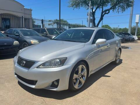 2011 Lexus IS 250 for sale at CityWide Motors in Garland TX