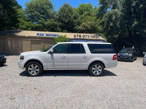 2010 Ford Expedition EL for sale at Mad Motors LLC in Gainesville GA