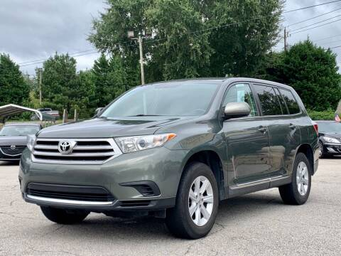 2013 Toyota Highlander for sale at GR Motor Company in Garner NC