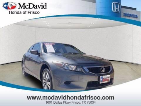 2008 Honda Accord for sale at DAVID McDAVID HONDA OF IRVING in Irving TX