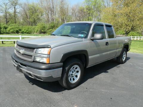 2003 Chevrolet Silverado 1500 for sale at Woodcrest Motors in Stevens PA