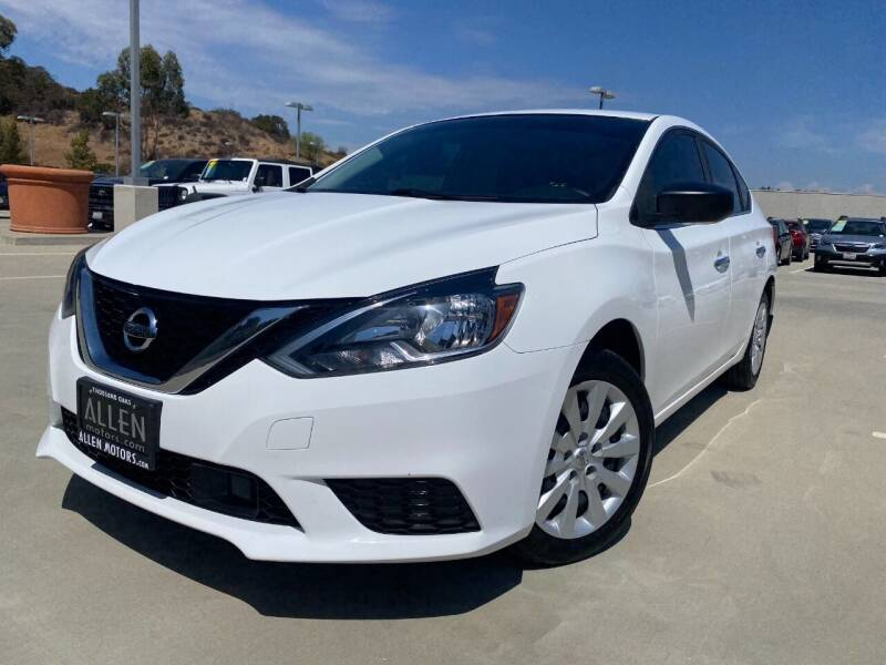 2019 Nissan Sentra for sale at Allen Motors, Inc. in Thousand Oaks CA
