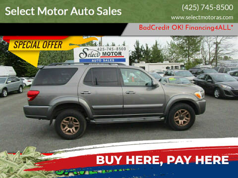 2005 Toyota Sequoia for sale at Select Motor Auto Sales in Lynnwood WA
