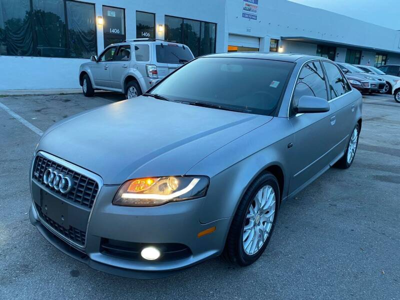 2008 Audi A4 for sale at UNITED AUTO BROKERS in Hollywood FL