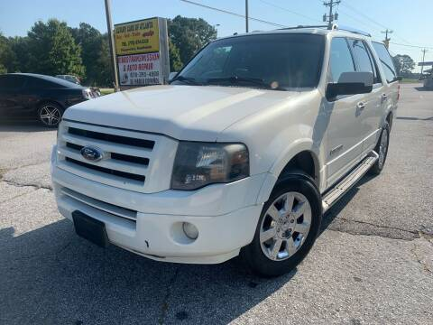 2008 Ford Expedition for sale at Luxury Cars of Atlanta in Snellville GA