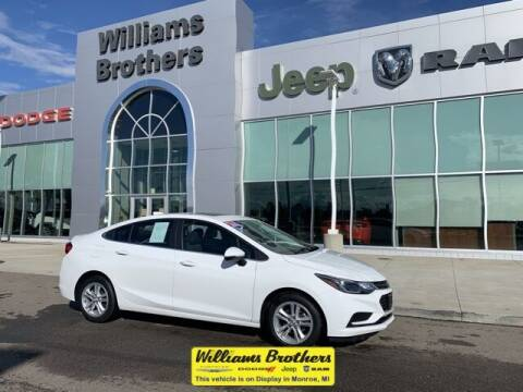 2016 Chevrolet Cruze for sale at Williams Brothers - Pre-Owned Monroe in Monroe MI