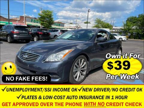 2008 Infiniti G37 for sale at AUTOFYND in Elmont NY